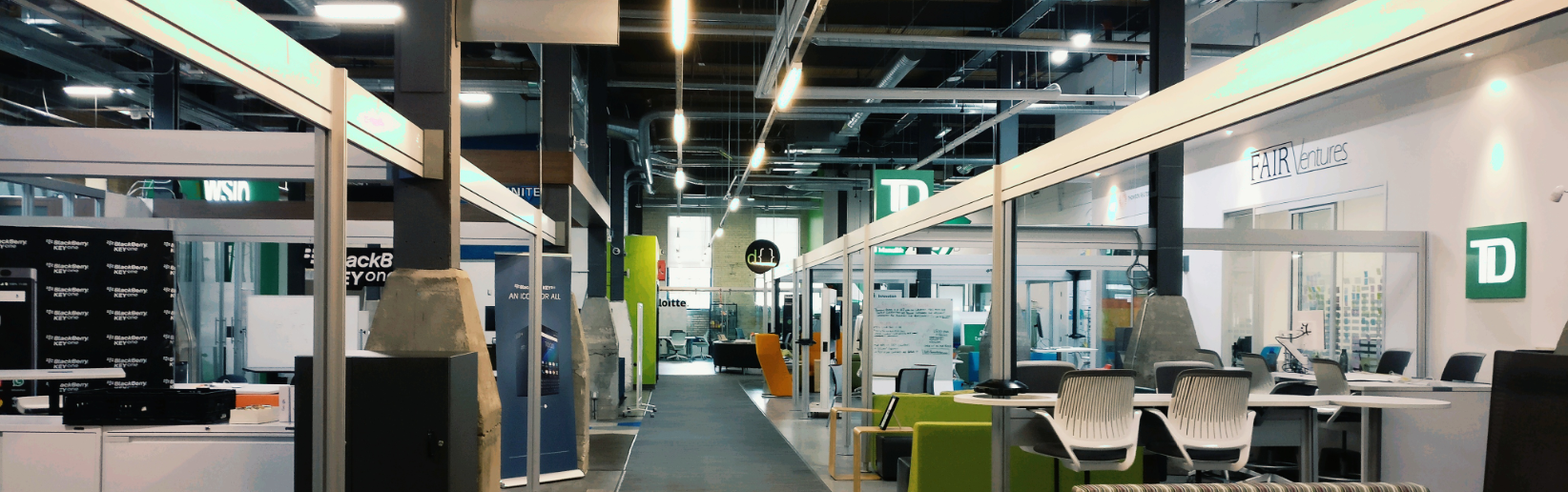 Innovation Alley at the Communitech Hub in Kitchener