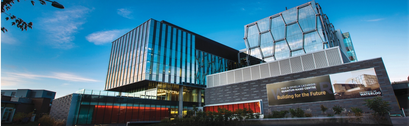 The Institute for Quantum Computing at the University of Waterloo