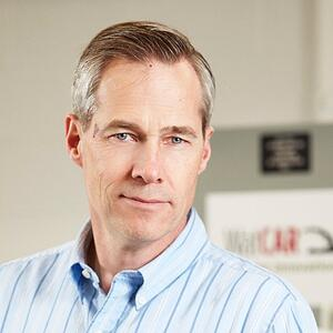 Ross McKenzie, managing director of the Waterloo Centre for Automotive Research (WatCAR)