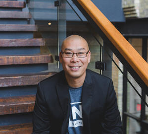 Simon Chan, Head of Corporate Innovation Thought Leadership at Communitech