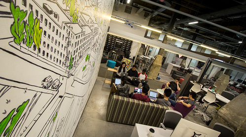 TD Lab Space at Communitech