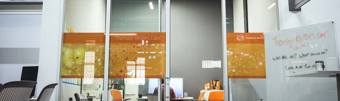 Thomson Reuters Lab Banner